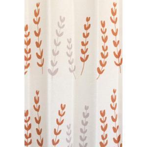 サイズ:100×178cm(1枚) 1.5倍ヒダ使用 カラー:オレンジ 組成:ポリエステル100% ...