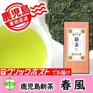 中島園 限定新茶 鹿児島県産 「春風」 2018 100g|nakajimaen
