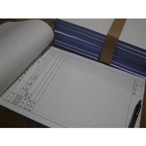 3枚複写 打合せシート 連絡記録3枚別版 A4サイズ 3×50×25冊 nakamura-insatsu