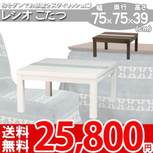 こたつ 正方形 センターテーブル レシオ750 az|nakane