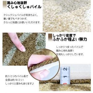 玄関マット 洗える 手洗い ウォッシャブル モダン おしゃれ 60×90cm ゴージャズ|nakane|02