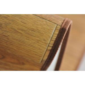 ラグ カーペット 撥水 ダイニングラグ 汚れにくい 木目デザイン フローリング調 185×250 東リ|nakane|03
