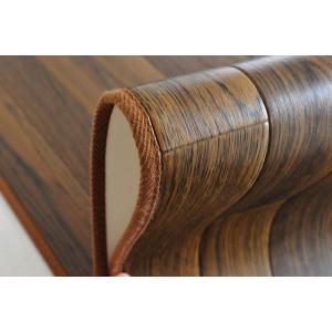 ラグ カーペット 撥水 ダイニングラグ 汚れにくい 木目デザイン フローリング調 185×250 東リ|nakane|05