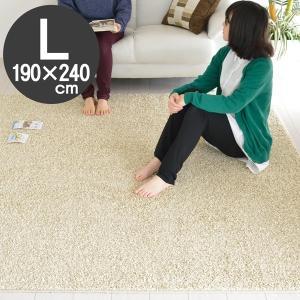 ラグ 花粉をキャッチ マット ウィルス吸着 190×240 アイボリー  アレルギー対応 ラグマット カーペット ホットカーペット 対応ラグ ノーウィル nakane