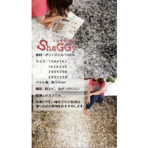 ラグ マット シャギーラグ ウィルトン織り グラデーションデザイン 140×195 スーパーオーロラ aw|nakane|06