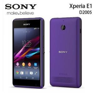 【新品 未使用】 SONY Xperia E1 D2005 パープル Purple 【ソニー】【スマホ】【海外携帯】【白ロム】【SIMフリー】携帯電話 【当社90日保証】