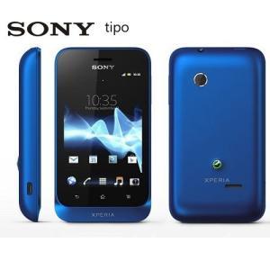 【新品 未使用】 SONY Xperia tipo ST21i ブルー Blue 【ソニー】【スマホ】【海外携帯】【白ロム】【SIMフリー】携帯電話 【当社90日保証】