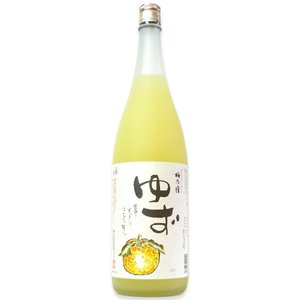 梅乃宿 ゆず酒 1.8L 8度...