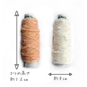 ブーケ 雑貨糸 AVRIL アヴリル ミニコーン シュシュ ゆび編みにオススメステキな糸が糸巻きで揃いました 手芸材料 手あみ 毛糸 アブリル|nakanotetsu