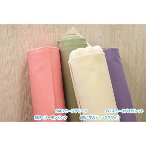 パレットカラーハンプ 11号帆布 カラー無地 全14色 kokochi fabric 丈夫でやや厚手の生地 コットン100% 110cm巾  キャンバス生地 KOF-02 nakanotetsu 06