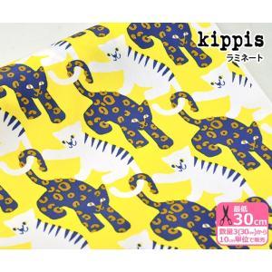 kippis キッピス Kisut ねこちゃん オックスラミネート 生地 布 KPOR-06 nakanotetsu