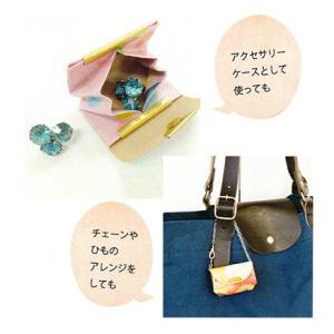 ペーパーラミネーるでつくる【Craft Gallery】折って作れるおさいふキット☆SサイズNPモダン・フルーツ・スイーツ♪|nakanotetsu