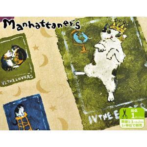 Manhattaner's 猫のタロットカード オックス パネル販売 1パネル約60cm 生地 布 MA12967S nakanotetsu