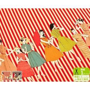 中原淳一 パネル販売 Women and stripes ファッションアイコンとストライプ柄 NJ829507 YUWA シャーティング リファインド加工 綿100% 110cm巾 有輪商店|nakanotetsu