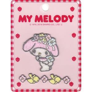 サンリオ 2019 アイロン接着アレンジワッペン MY MELODY マイメロディ ワッペン アップリケ sanrio|nakanotetsu