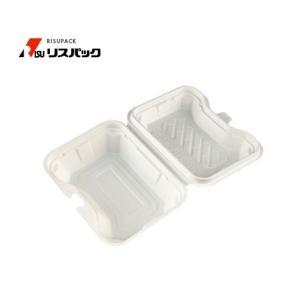 【300枚】ニュートデリカ シェルBOX40 アイボリー 使い捨て 弁当容器リスパック 1枚あたり84.4円|nakapack
