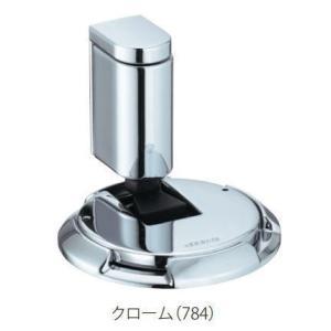 カワジュン製ドアキャッチャー AC-784-XC クローム KAWAJUN(内ビスタイプ)|nakasa2