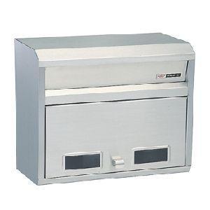 ハッピーステンレス製 ポスト ファミール681 おしゃれな郵便受けポスト|nakasa2