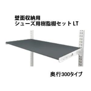 壁面収納 プラ棚スリムセット W450×D300 |nakasa2