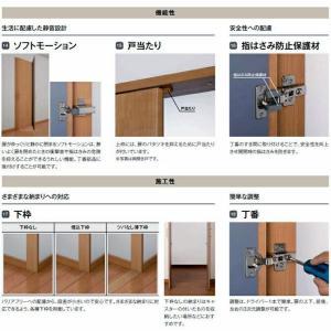クローゼットドア(両開き戸) ASCH-LAB ロータイプ(階段下収納)トステム  lixil リクシル tostem|nakasa2|03