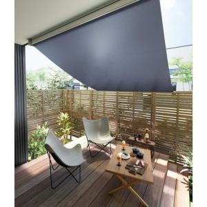 日よけ シェード サンシェード /スタイルシェード外付けスクリーン 13311(単体引違い・シャッター・雨戸サッシ専用)W1500×H1210 トステム|nakasa2