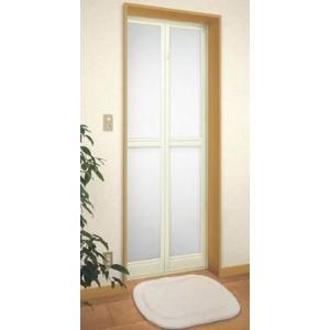 トステム(LIXIL) 浴室中折ドアSF型(内付納まり)樹脂パネル 寸法オーダー品|nakasa3