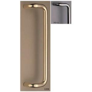 L形丸棒取手(両面用)/真鍮ドア取手|nakasa3