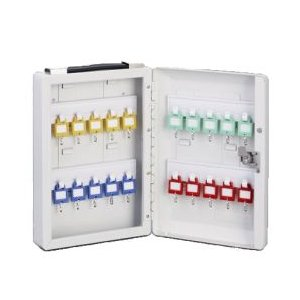 キーボックス(鍵20本掛け用)カギ20本収納キーボックスKBP−20|nakasa
