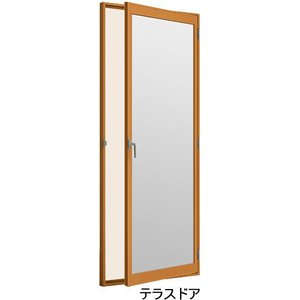トステム内窓インプラス テラスドア用 単板ガラス仕様(標準)|nakasa