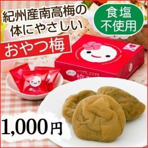 「いつでもどこでもスイート梅ちゃん」 おやつ梅 中田食品 梅干し 食塩不使用 和歌山県産