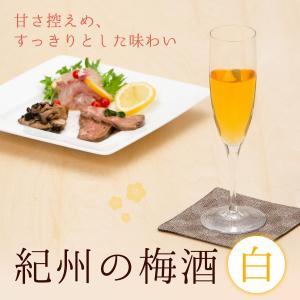 梅酒 紀州 完熟 南高梅 紀州の梅酒 白 720ml 中田食品 熟成貯蔵 果実酒 無添加 GI和歌山梅酒|nakatafoods