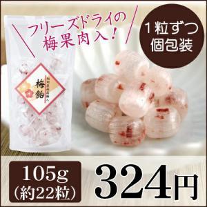 梅飴 105g 中田食品 紀州産 南高梅 携帯 梅|nakatafoods