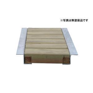 木製グレーチング長さ約600mm・幅約240mm(モスグリーン色:保存処理木材仕様)(側溝蓋/溝蓋/蓋/グレーチング/カバー/U字側溝/溝カバー/国産/杉/天然木)|nakataniweb|02