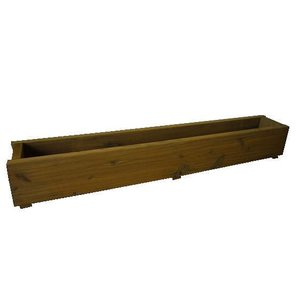 木製プランター900-130浅型長さ約900奥行き約130(メープル)(木製プランター)(防腐防蟻処理済)|nakataniweb|02