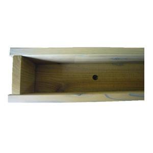 木製プランター900-130浅型長さ約900奥行き約130(メープル)(木製プランター)(防腐防蟻処理済)|nakataniweb|03