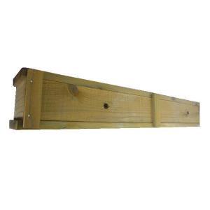 木製プランター900-130浅型長さ約900奥行き約130(メープル)(木製プランター)(防腐防蟻処理済)|nakataniweb|04