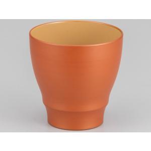 パール漆 フリーカップ パール橙|nakayakeitei