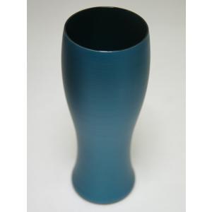 パール漆グラス ビアグラス パールブルー|nakayakeitei