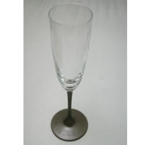 パール漆グラス シャンパングラス パールシルバー|nakayakeitei