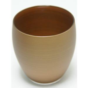 パール漆グラス 冷酒 パールゴールド|nakayakeitei
