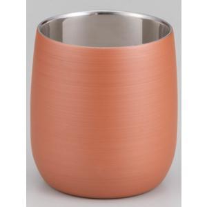 漆磨カップ(二重ロックカップだるま パール橙)|nakayakeitei