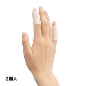 ●弾力性のある、のびのびフィット素材がヘバーデン結節やリウマチ等で変形した指の関節を保護し物理的接触...