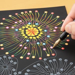 脳トレ 認知 予防 集中 お絵描き 高齢 楽しく脳トレ スクラッチアート