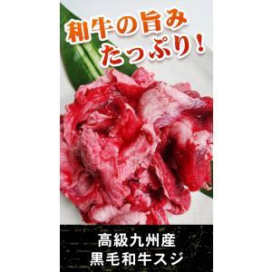 九州産黒毛和牛スジ(500g)