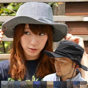 2WAY サファリハット  洗える帽子  アドベンチャーハット 紫外線対策、小顔効果 山登り ハット 帽子 つば広  UV|nakota