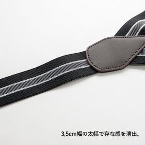 GEVAERT ゲバルト ストライプY型サスペンダー メンズ レディース ユニセックス 男女兼用 キッズ フォーマル カジュアル nakota 04