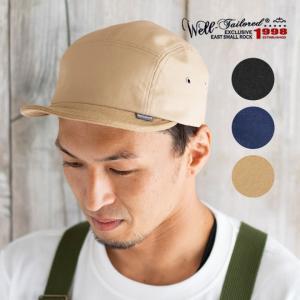 Well-Tailored  ウェルテイラード ショートブリムキャンプキャップ メンズ レディース 春 夏|nakota