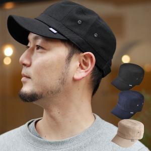 コットン キャンバス ワークキャップ キャップ 帽子|nakota