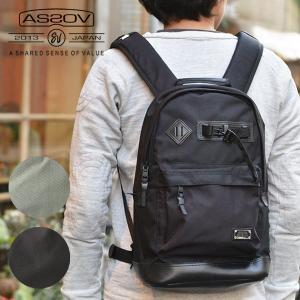 AS2OV (アッソブ) EXCLUSIVE BALLISTIC NYLON DAY PACK デイパック リュック 鞄 バッグ メンズ レディース ユニセックス グレー ブラック おしゃれ nakota