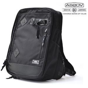 AS2OV アッソブ EXCLUSIVE BALLISTIC ナイロン 2WAY バックパック ビジネスバッグ リュック 鞄 バッグ メンズ nakota
